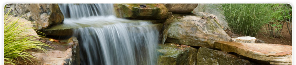 Landscape Industries - Waterfalls & Ponds